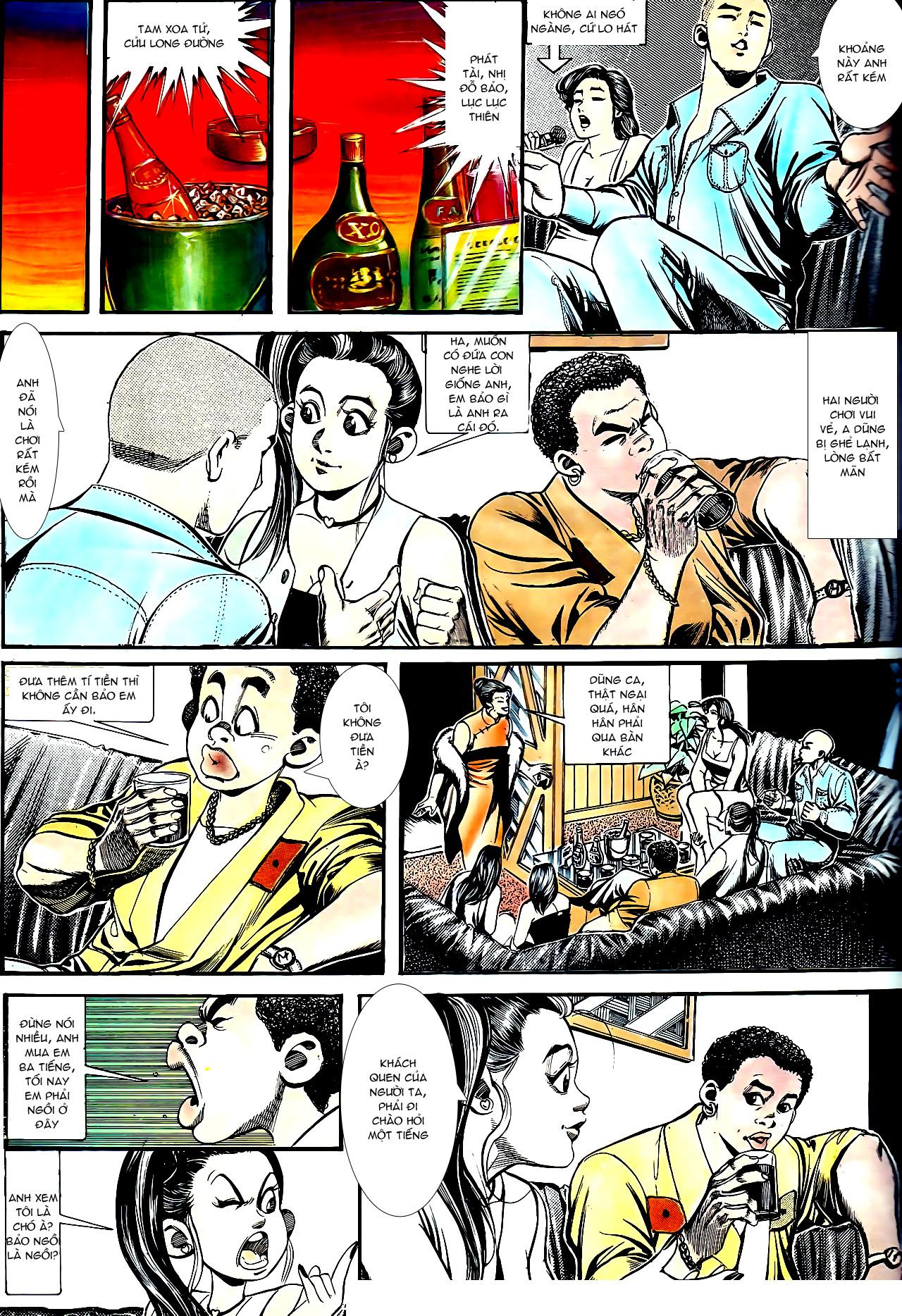 Người Trong Giang Hồ chapter 154: nam đẹp trai trang 22