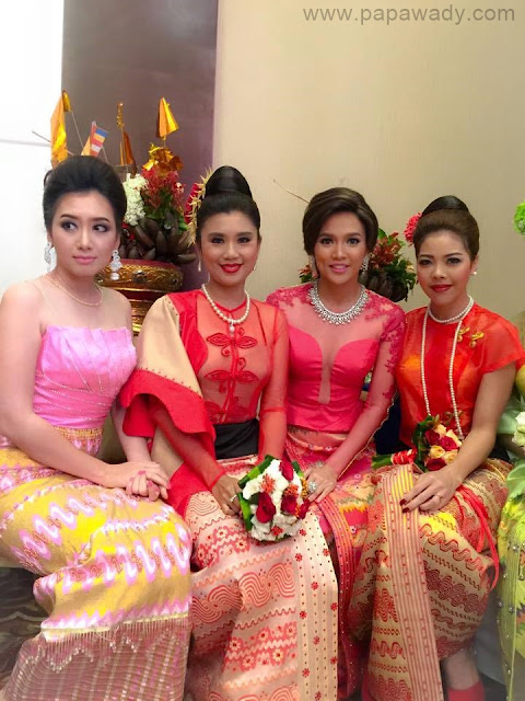 Fashion Show: Khine Thin Kyi Cat Walks For Nan Myo Thu Silk Shop Fashion Show