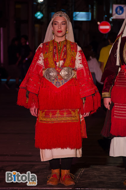 Macedonian national costume - Ethnic area Miaks - Smilevo village