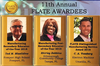2018 FLATE Award Winners
