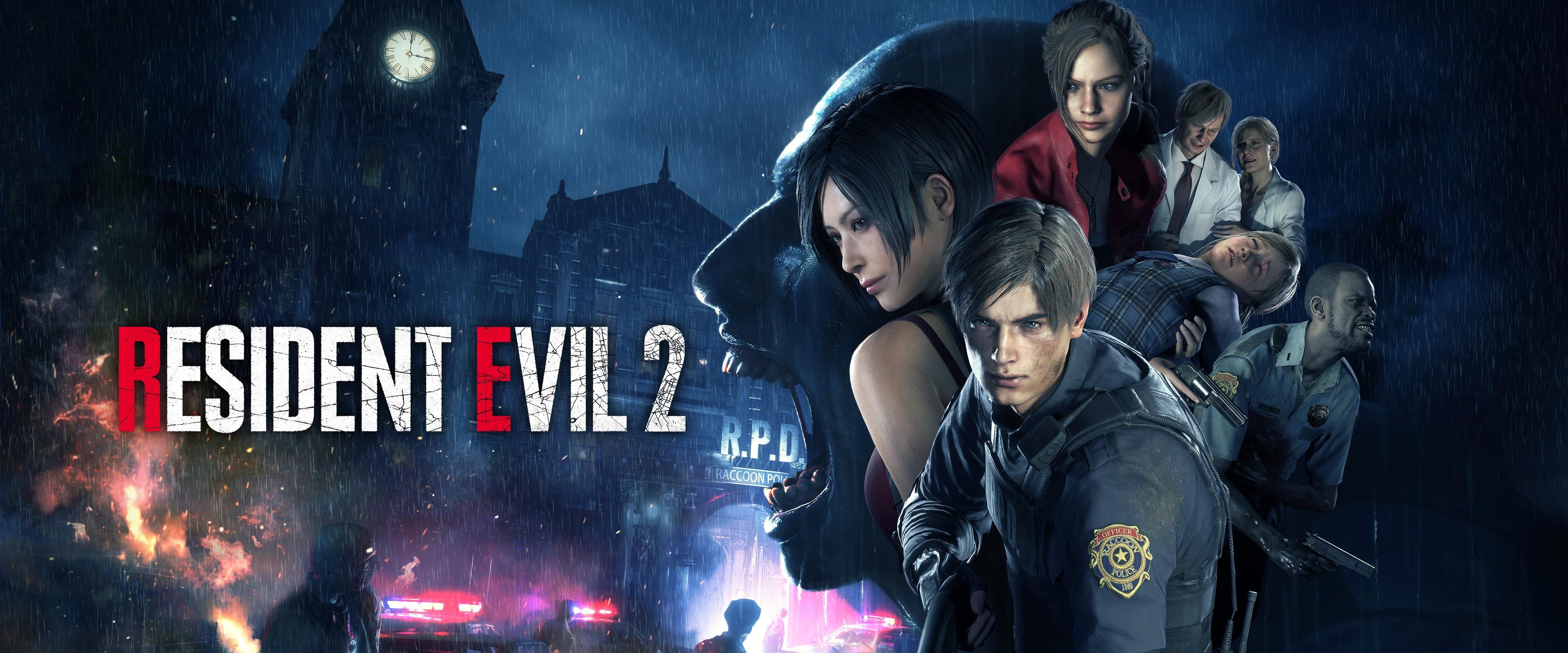 Resident Evil 2 Characters 4K Wallpaper #3