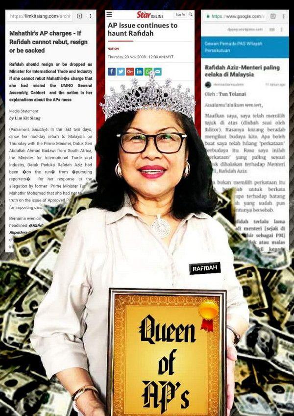 Rafidah Aziz Ratu AP