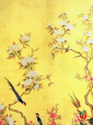 Oriental Girl Wallpaper Especially Beautiful Divine De Gournay