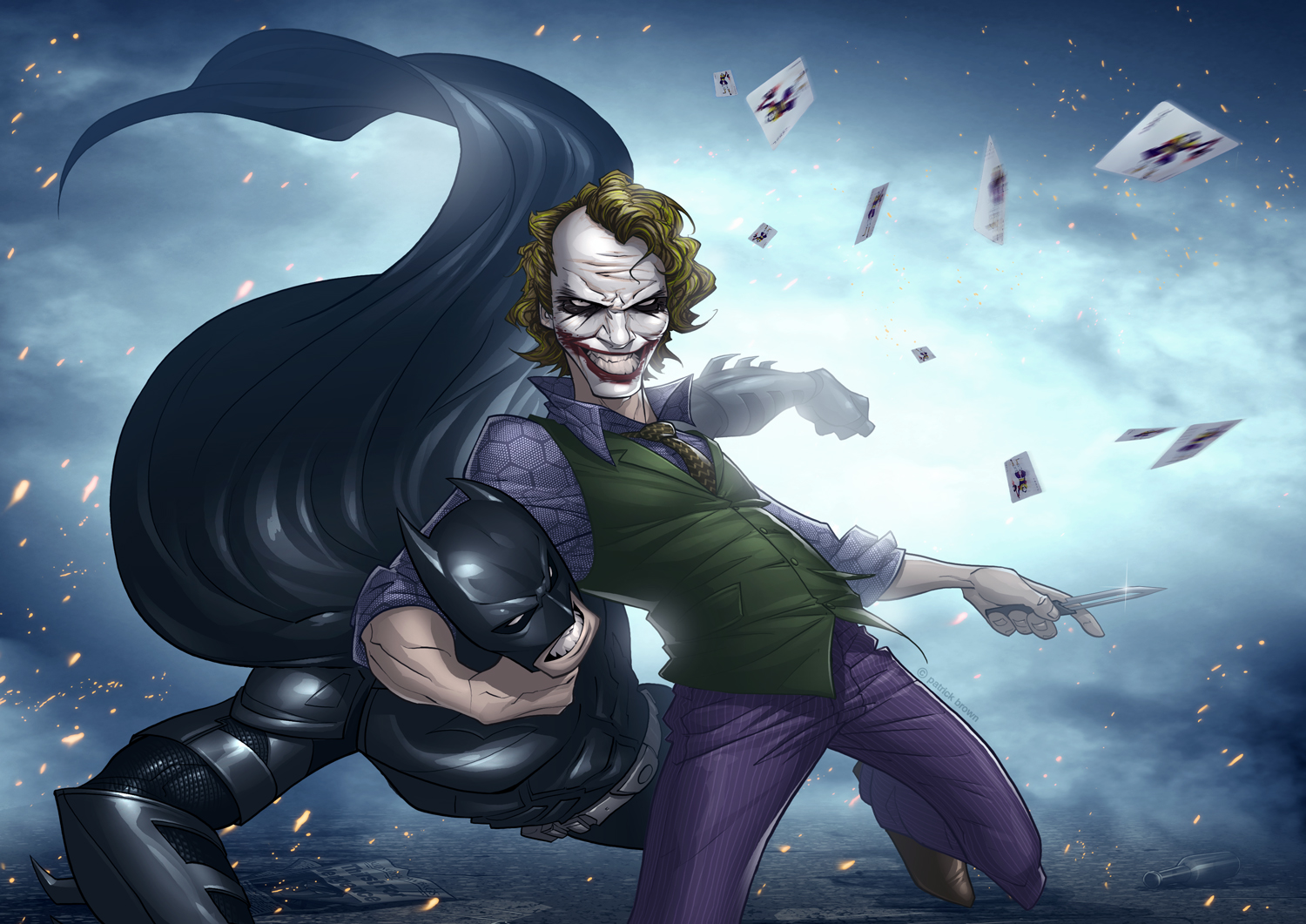 The Dark Knight Files: why so serious wallpaper 2012 series  The Dark Knight...