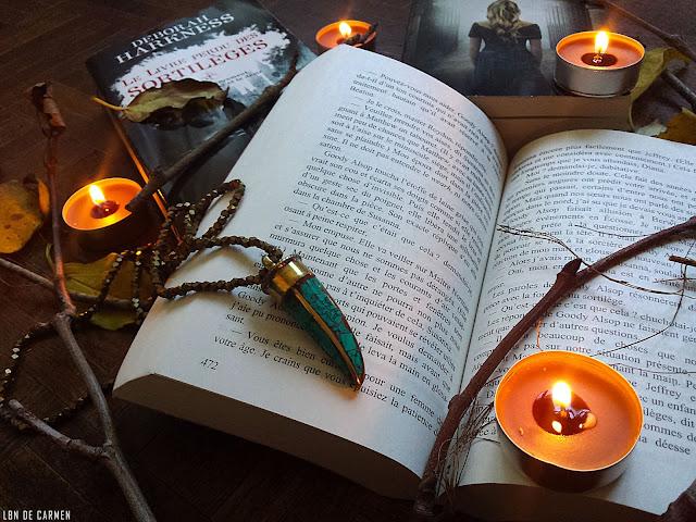 all souls trilogie deborah harkness bookworm book le livre perdu des sortilege l'ecole de la nuit le noeud de la sorciere lecture read
