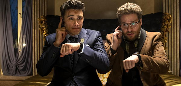 James Franco şi Seth Rogen în comedia The Interview
