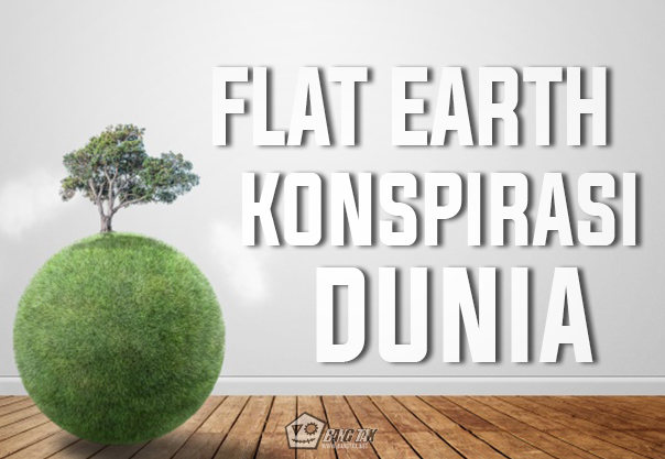 Flat Earth Konspirasi Dunia