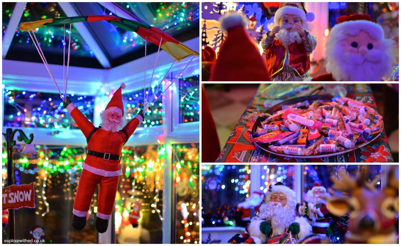 Inside the Christmas House in Newport