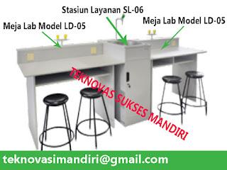 Jual meja laboratorium sekolah