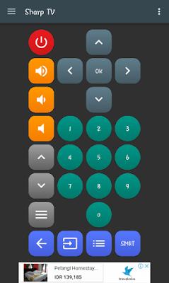 Aplikasi Universal TV Remote dari Twinone