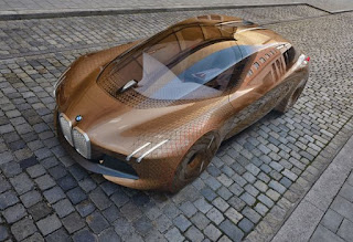 BMW VISION NEXT 100 isi face debutul in Asia