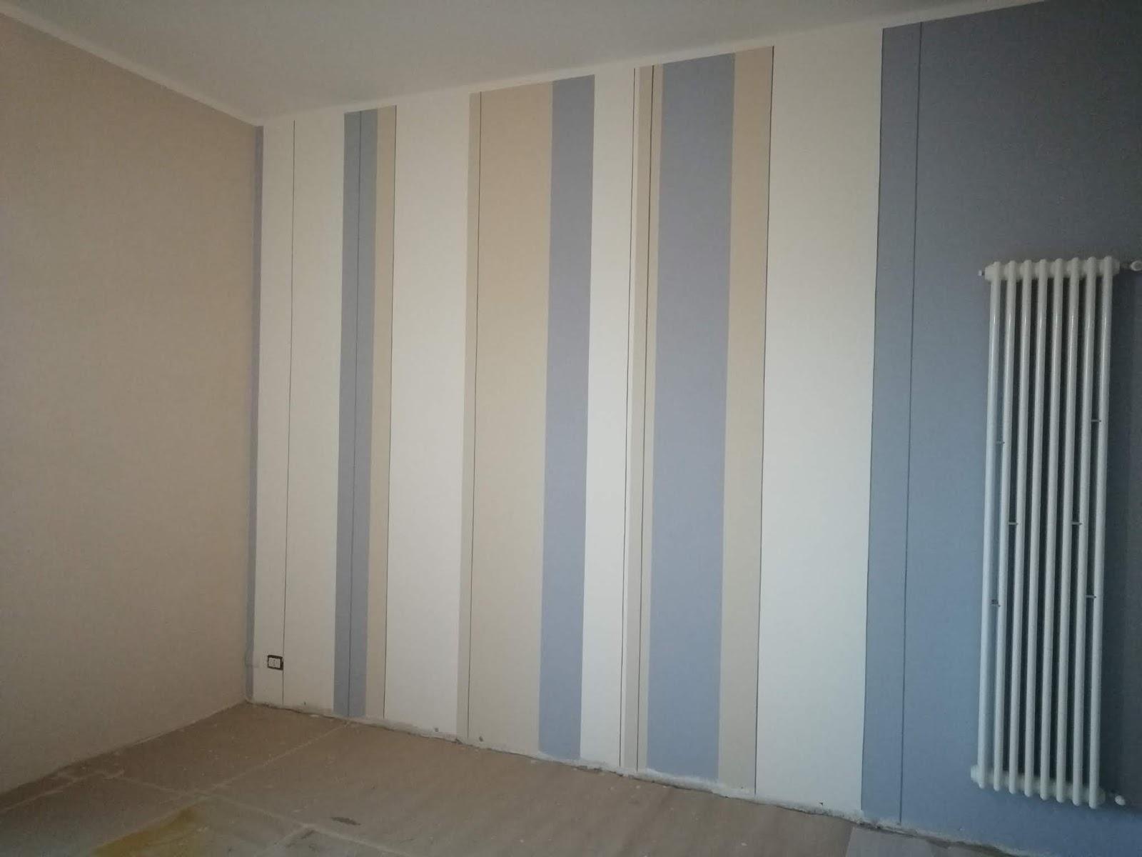 Pareti A Strisce Verticali : Chiartec pareti a righe