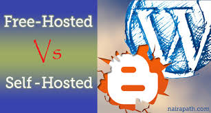 Self hosted blog or a free blog: