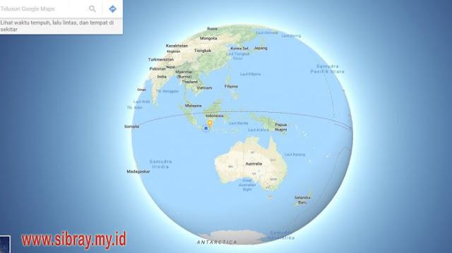 Tak Lagi Datar, Google Maps Rilis Tampilan Bumi Bulat di Petanya