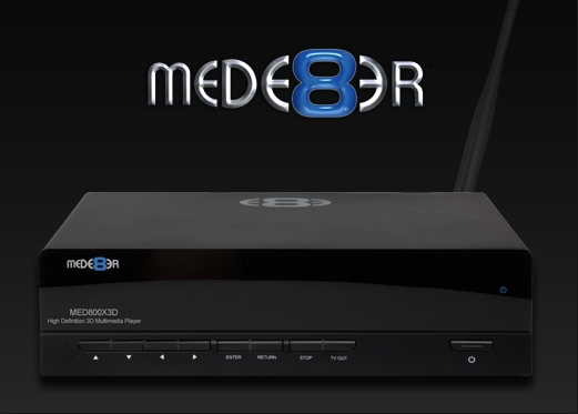 Copy Blu-ray disc to Mede8er MED800X3D for watching with MKV
