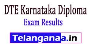 DTE Karnataka Diploma 2017 Exam Results
