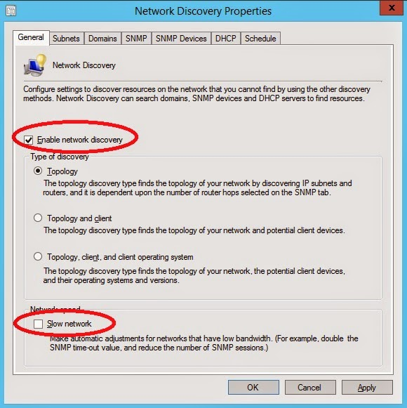 SCCM Network Discovery   System Center Cloud and DataCenter Management