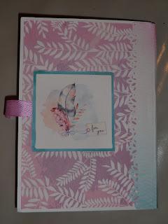 mini-album, enveloppe, fleur, violet, rose, étoile, découpes, animal,