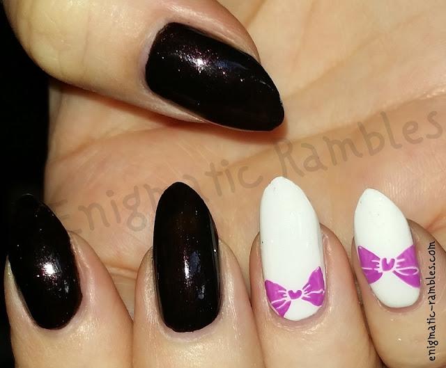 Bow-Nails-Nail-Art-Stamping