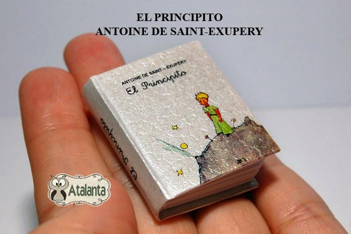 Minibook Petit Prince - libro miniatura El Principito