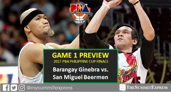 2017 PBA Finals Game 1 – Barangay Ginebra vs San Miguel Beermen
