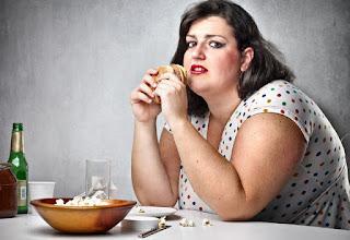 Kilolu kadın