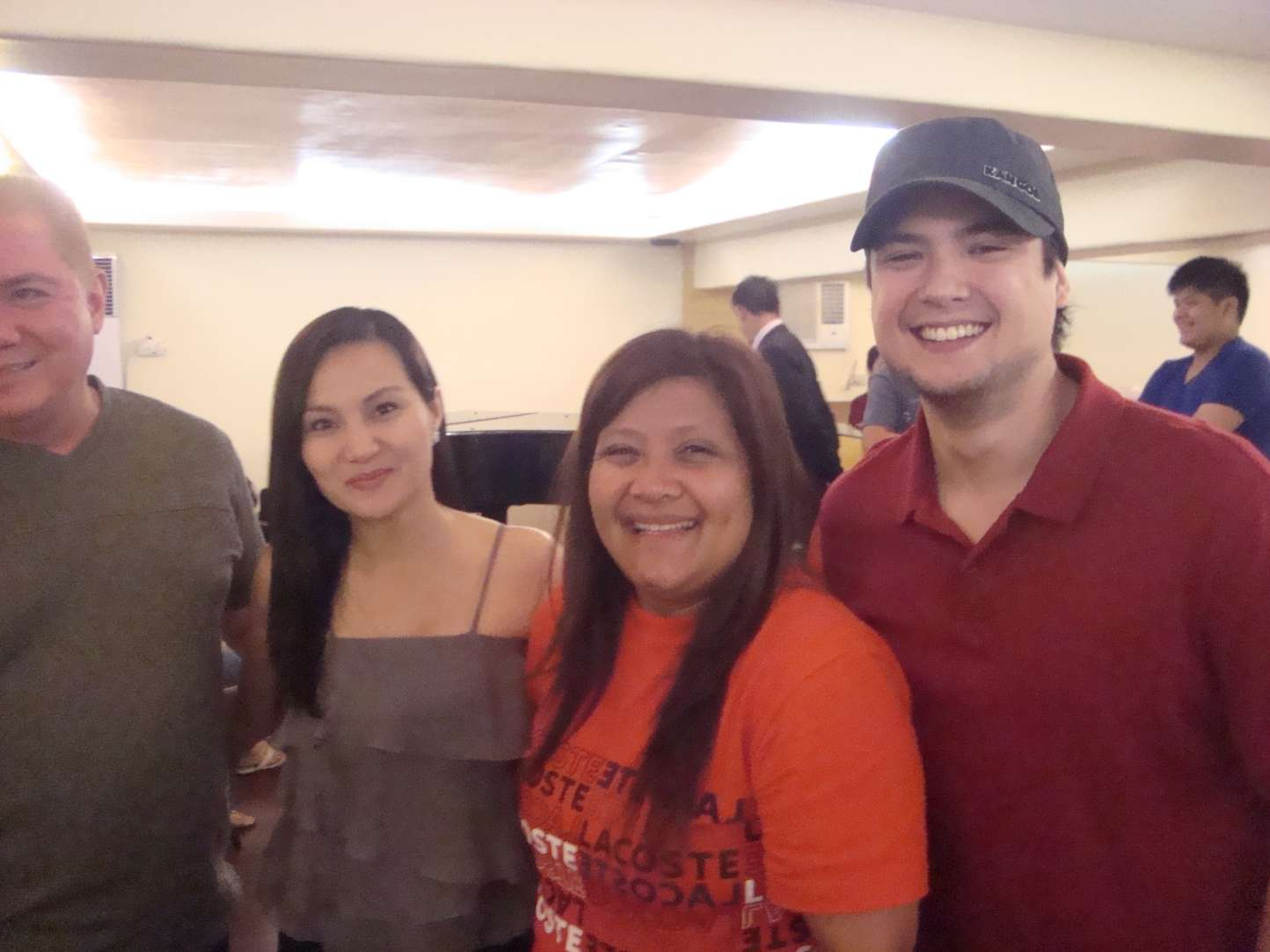 We were with geoff eigenmann and gladys reyes at the rd charter foundation anniversary of iriga city last weekend it    two week affair that started also fabulous celebrations rh showbizportal