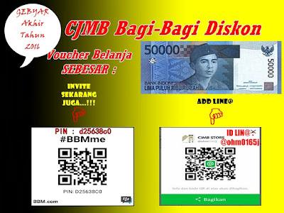 CJMB Bagi-Bagi Bonus