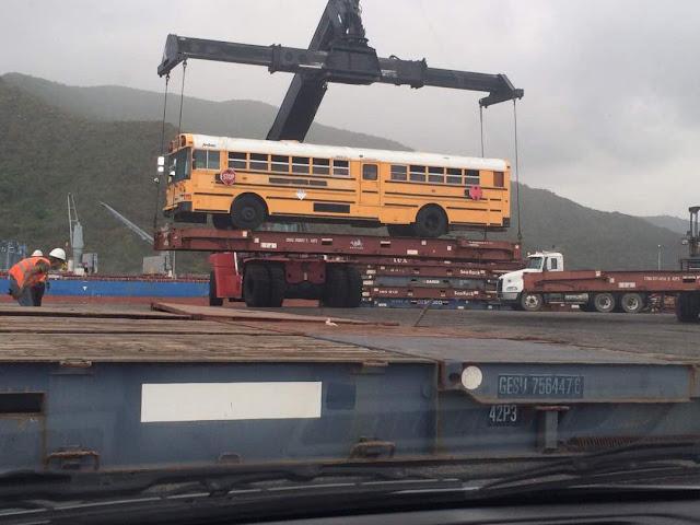 Siguen llegando más unidades para transdracula al puerto de PCabello para copar todas las rutas que faltan
