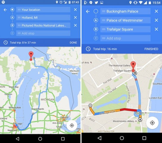 Last Google Maps For Android Get Multi Driving Directions