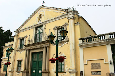 St.Augustine's Church,a UNESCO listed World Heritage Site,Historic Centre Of Macao at  St. Augustine's Square, Macau