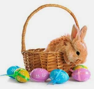 Mi sala amarilla el origen del huevo de pascua y el for El conejo de pascua