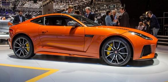 2017 Jaguar F-Type SVR Exterior