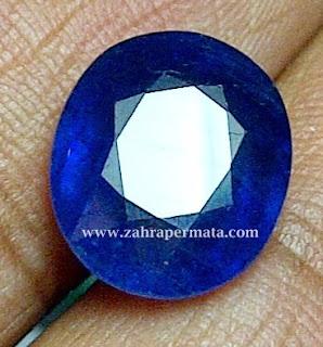 Batu Permata Royal Blue Safir