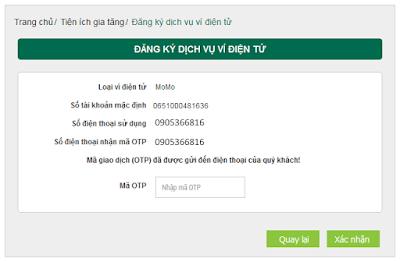 kiếm tiền trên mạng vietcombank