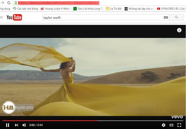 Cách tải nhạc MP3 (audio) từ video trên Youtube