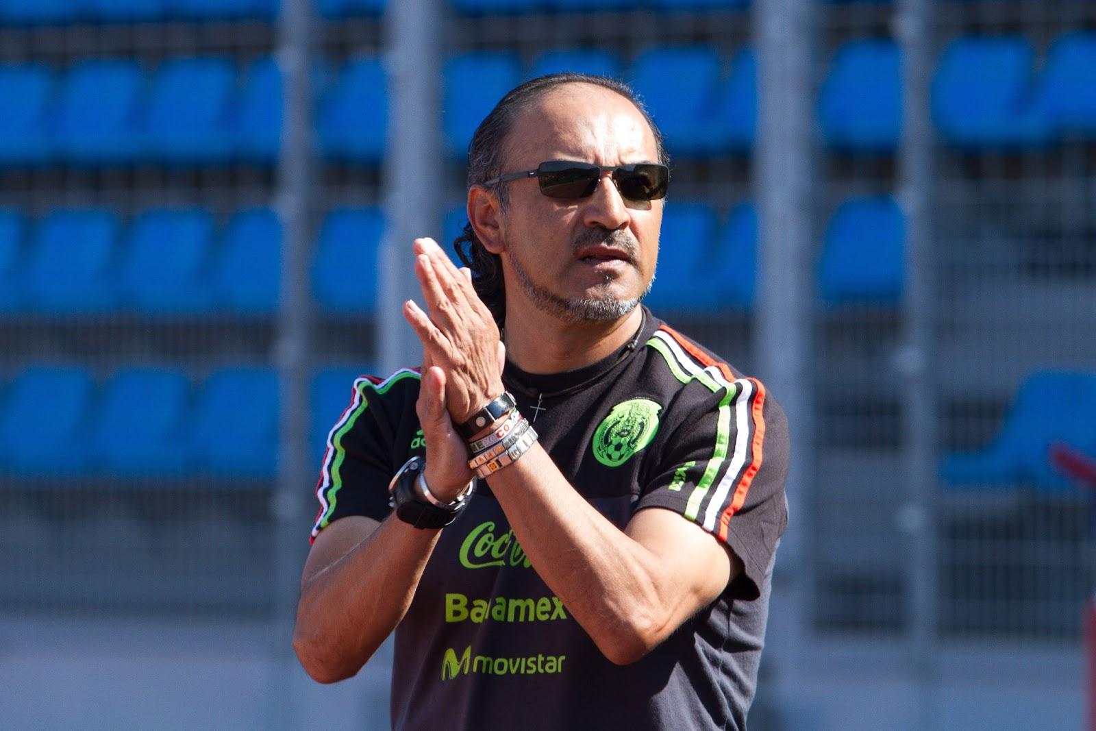 Raúl Gutiérrez, técnico de la Selección Olímpica.