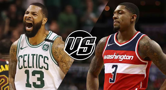 Live Streaming List: Boston Celtics vs Washington Wizards 2018-2019 NBA Season