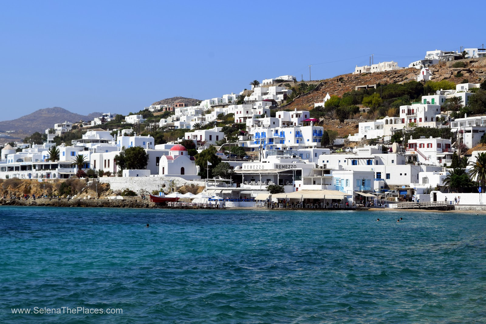 Girlfriend Getaway in Mykonos, Greece