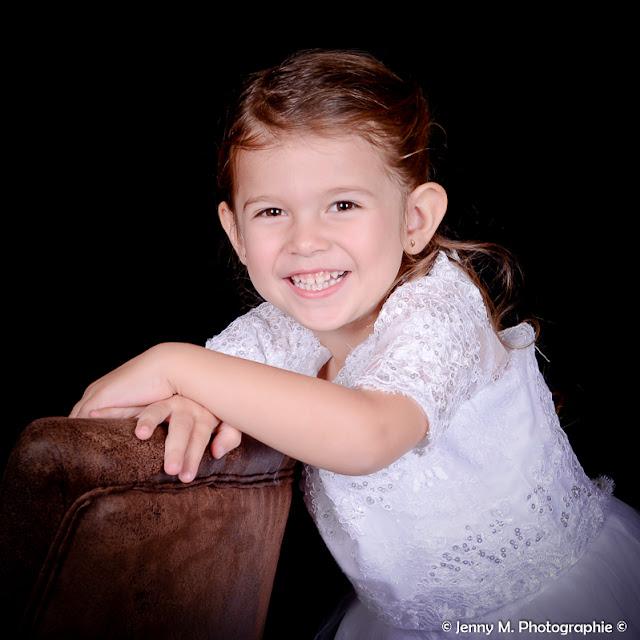 portrait enfant fille studio vendée