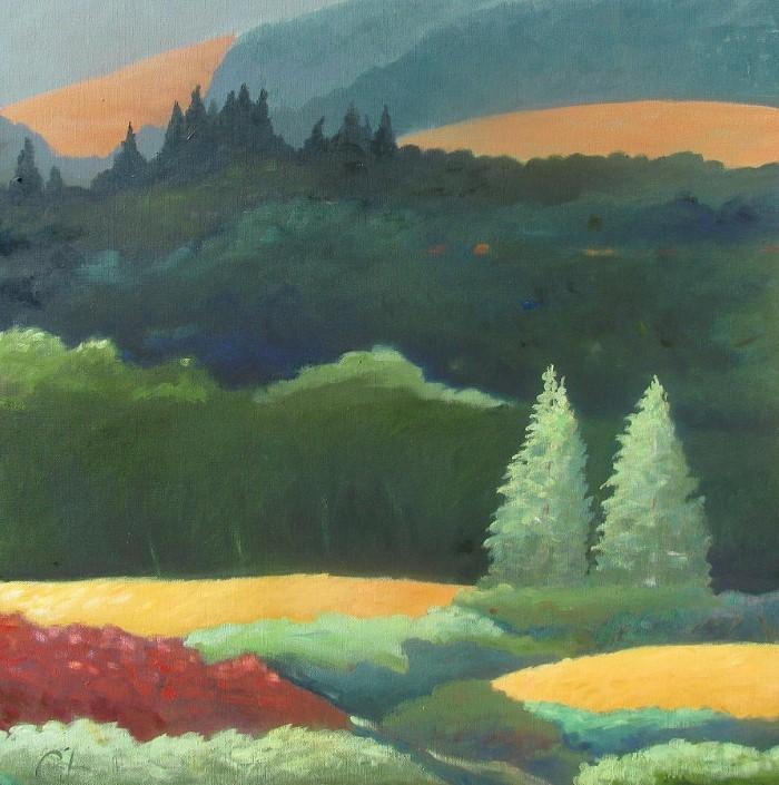 Пейзажи. Gary Coleman 11