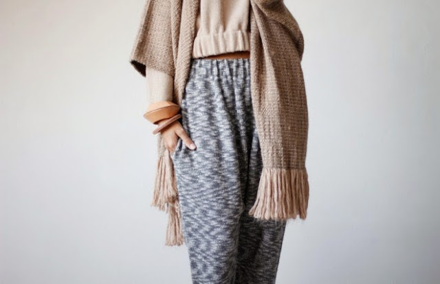 The Lauren Manoogian Autumn/Winter 2013 Line is Knitted