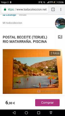 Postal, Beceite, Beseit, assut, azud, Matarraña, piscina natural