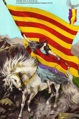 Imagini pentru II Republica cataluña