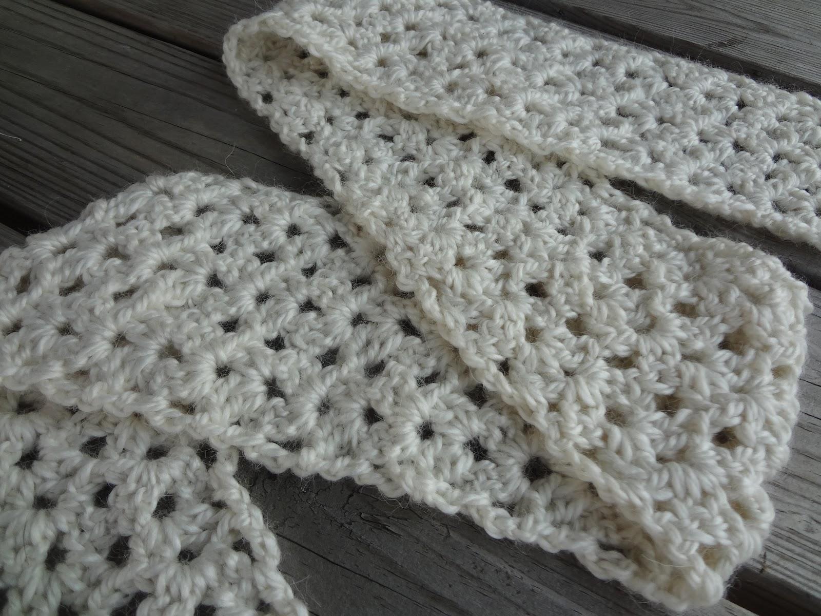 Fiber Flux: Free Crochet Pattern...Vanilla Bean Scarf!