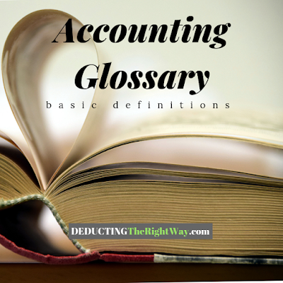 accounting definition; accounting principles | www.deductingtherightway.com