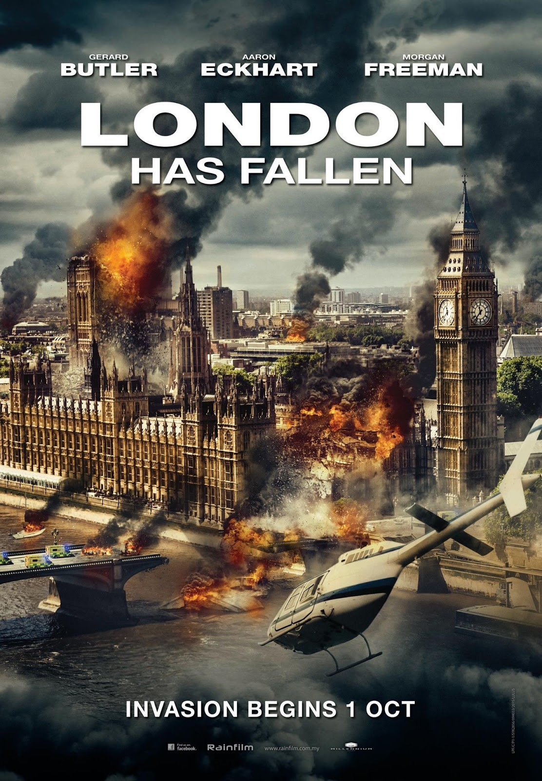 LONDON HAS FALLEN (2016) ผ่ายุทธการถล่มลอนดอน [ZOOM V.1 เสียงไทยโรง]