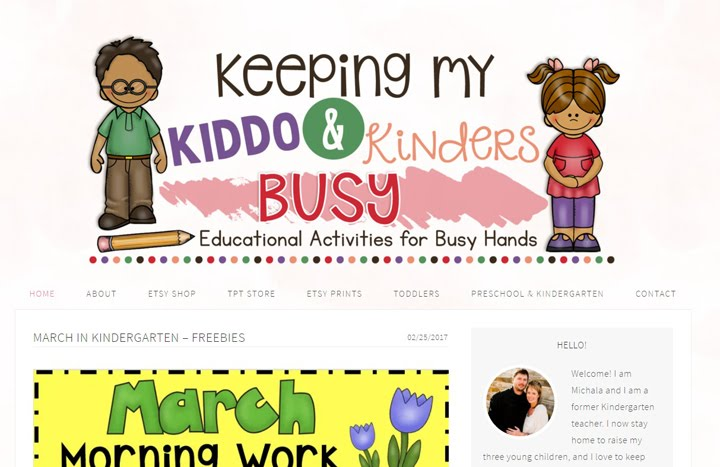 Keeping my Kiddo and Kinders Busy