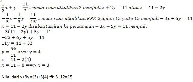 Rumus Dan Contoh Soal Matematika Pembahasan Soal Try Out Matematika Smp Edisi 3 Soal 11 20