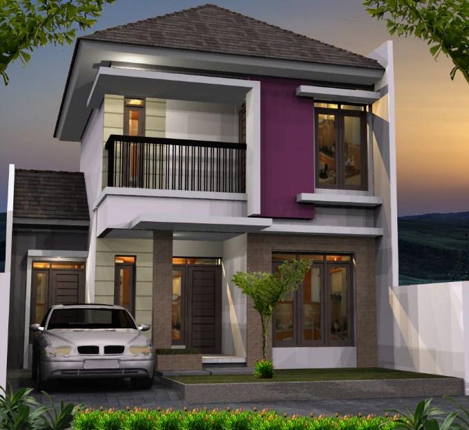 730 Gambar Rumah 2 Lantai Type 70 HD Terbaru